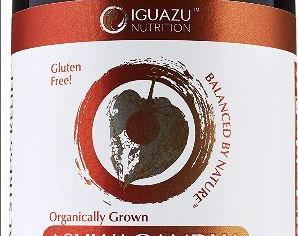 100% Organic Ashwagandha Root Powder 1950mg | 120 Vegan Capsules
