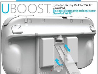yko Uboost - 2X Power for up to 10 Hours Playtime for Wii U GamePad