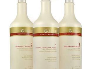 G.Hair Original Formula Smoothing Treatment Kit- 3-Steps - 33.8Oz / 1L