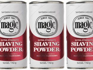 Magic Shaving Powder Red Extra Strength 5 oz  (Pack of 3)