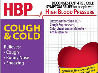 Coricidin HBP Antihistamine Cough & Cold Suppressant Tablets, 16 Tablets (Pack of 5)