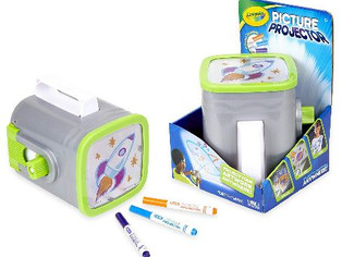 Crayola Picture Projector, Night Light Projector, Kids Flashlight,