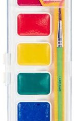 Crayola Washable Watercolor Paints, 8 Primary Colors - Pack of 4