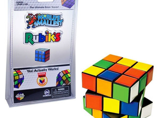 Rubik's Cube Miniature Edition- Pocket Sized 3D Puzzle