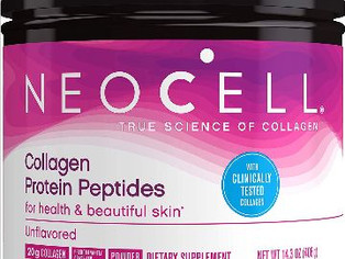 NeoCell Collagen Protein Peptides For Heathy & Beautiful Skin, Unflavored 14.3 Ounce
