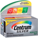 Centrum Silver Multivitamin Supplement For Adults Over 50, 80 Tablets (Pack of 2)