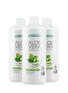 Aloe Vera Drinking Gel Intense Sivera - set van 3