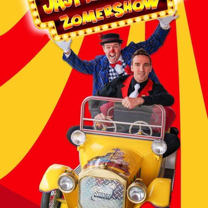 """Charlie's Summer Garden: Clown Jaspie & Kenny Blitz """"Alle gekheid op een stokje"""""""