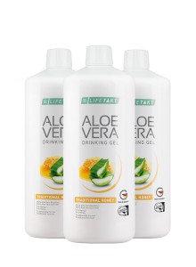 Aloe Vera Drinking Gel met Honig - set van 3