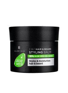 Men's Essentials 2in1 Haar & baard styling balsem 50ml