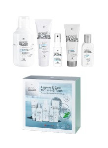MICROSILVER PLUS Hygiene & Care Set