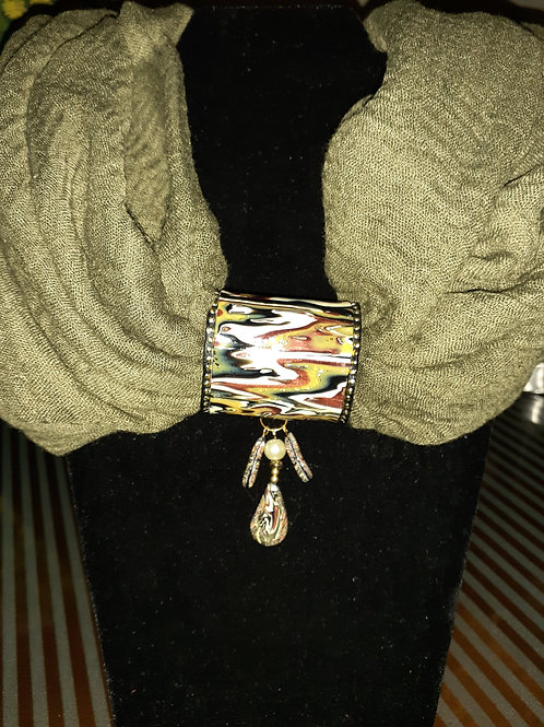 Abstract Scarf Buckle