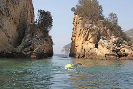 Swimming in Arrábida Natural Park