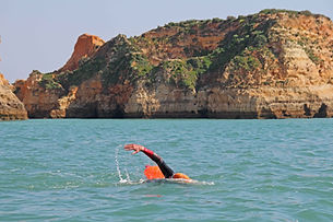 Swimming-at-a-slightly-slower-pace-than-