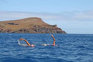Mayra-Santos-and-Mario-Bonanca-swimming-