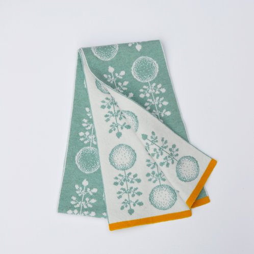 Green planet Design-Iona blue, White