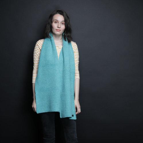 Sky blue Lambswool scarf