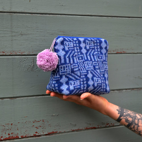 "Blue ""Lego"" collection purse"