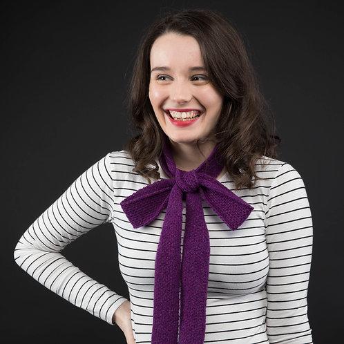 Iris skinny scarf