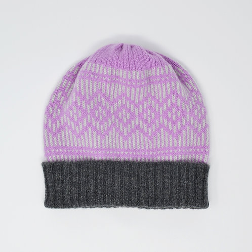 """""""Dundee Graphics"""" pink, grey hat"""