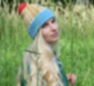 mustard blue hat2sq.jpg