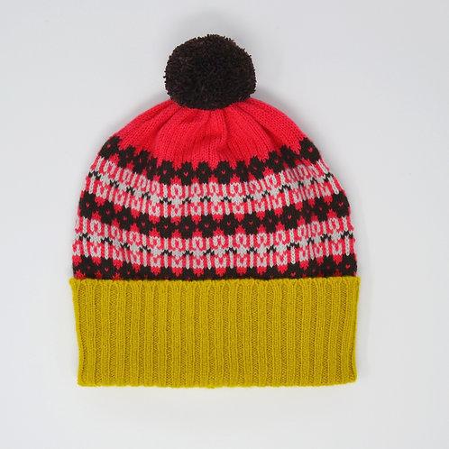 """Heritage"" Bright  multi colour hat"