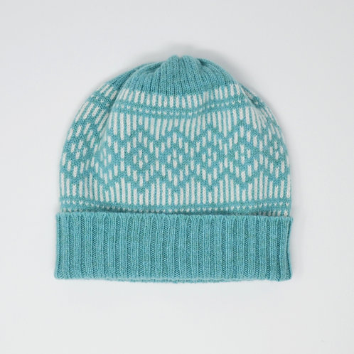 """""""Dundee Graphics"""" Mint Blue, white hat"""