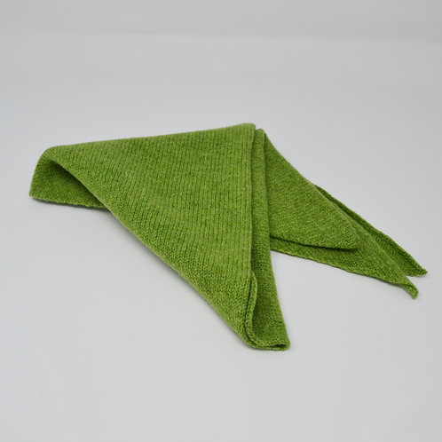 Extra soft Apple green  triangle scarf
