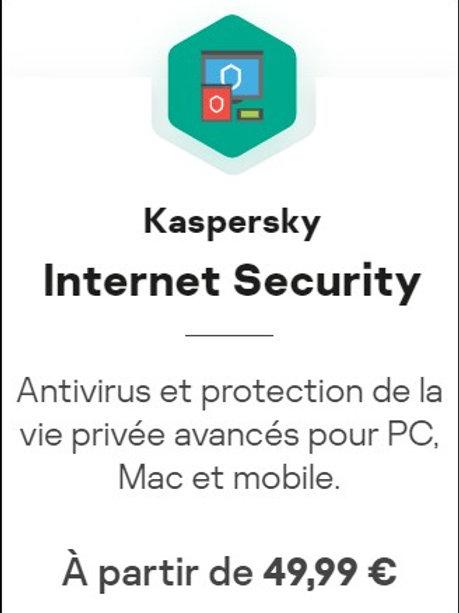 Kaspersky Internet Sécurity