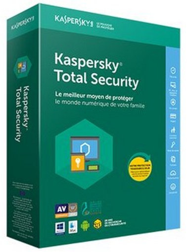 Kaspersky Total Security 1 an - 1 PC