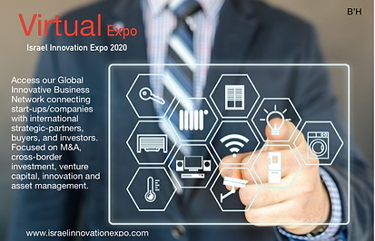 Virtual Expo Israel Innovation Expo 2020