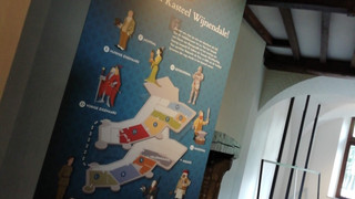 kasteel wijnendale infobord