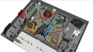 crossroads expo 3d animatie