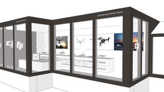 aerobertics DJI shop-in-shop