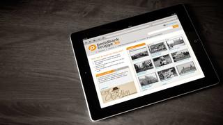beeldbank brugge look & feel website
