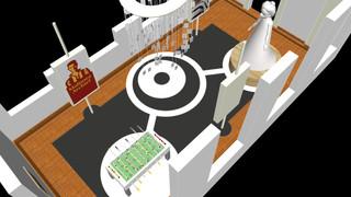 de mensen maken de stad 3D tekening