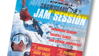 oneill snowboard jam session affichage