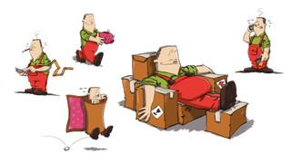stevens meubel illustraties