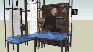 500 jaar luther expo 3D tekening