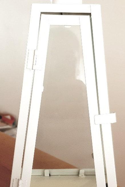 HIRE - White Triangle Lantern