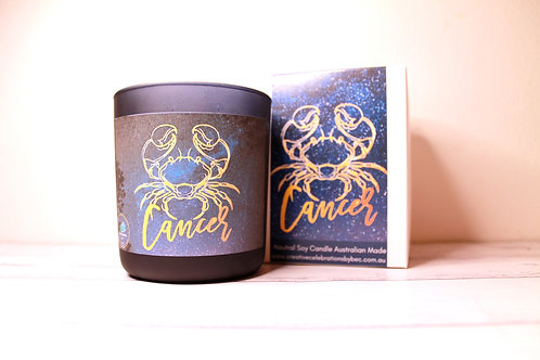 Cancer Zodiac Candle
