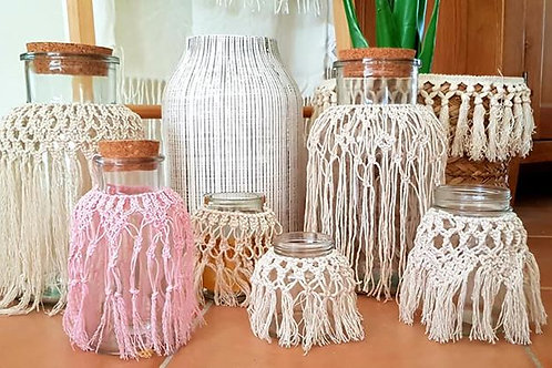 Macrame Jars
