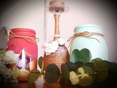 Rustic Candle Holder Pack