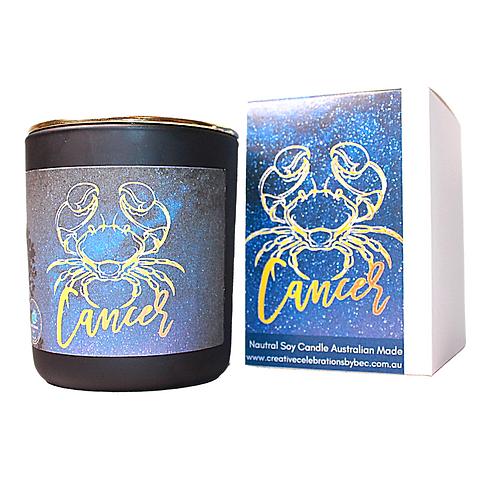 Cancer Zodiac Candle