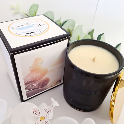 Mind Body & Soul Range Scented candles