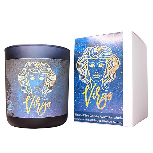 Virgo Zodiac Candle