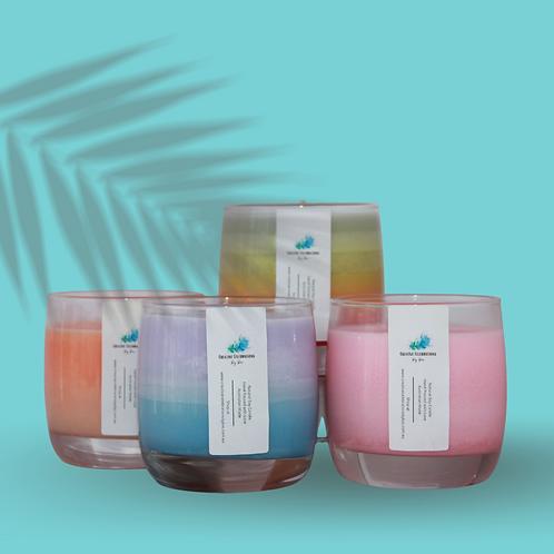 Easy AF Scented Coloured Candles