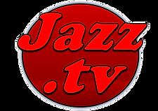 JAZZ TV  Logo Rojo y fondo rojo oscuro.p