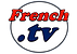 French TV  Logo Rojo y Azul Fondo Blanco