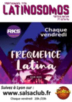 Radio - RKS Frecuencia Latina - Latinoso